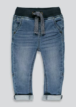 Boys Rib Waist Stretch Jeans (3mths-6yrs)