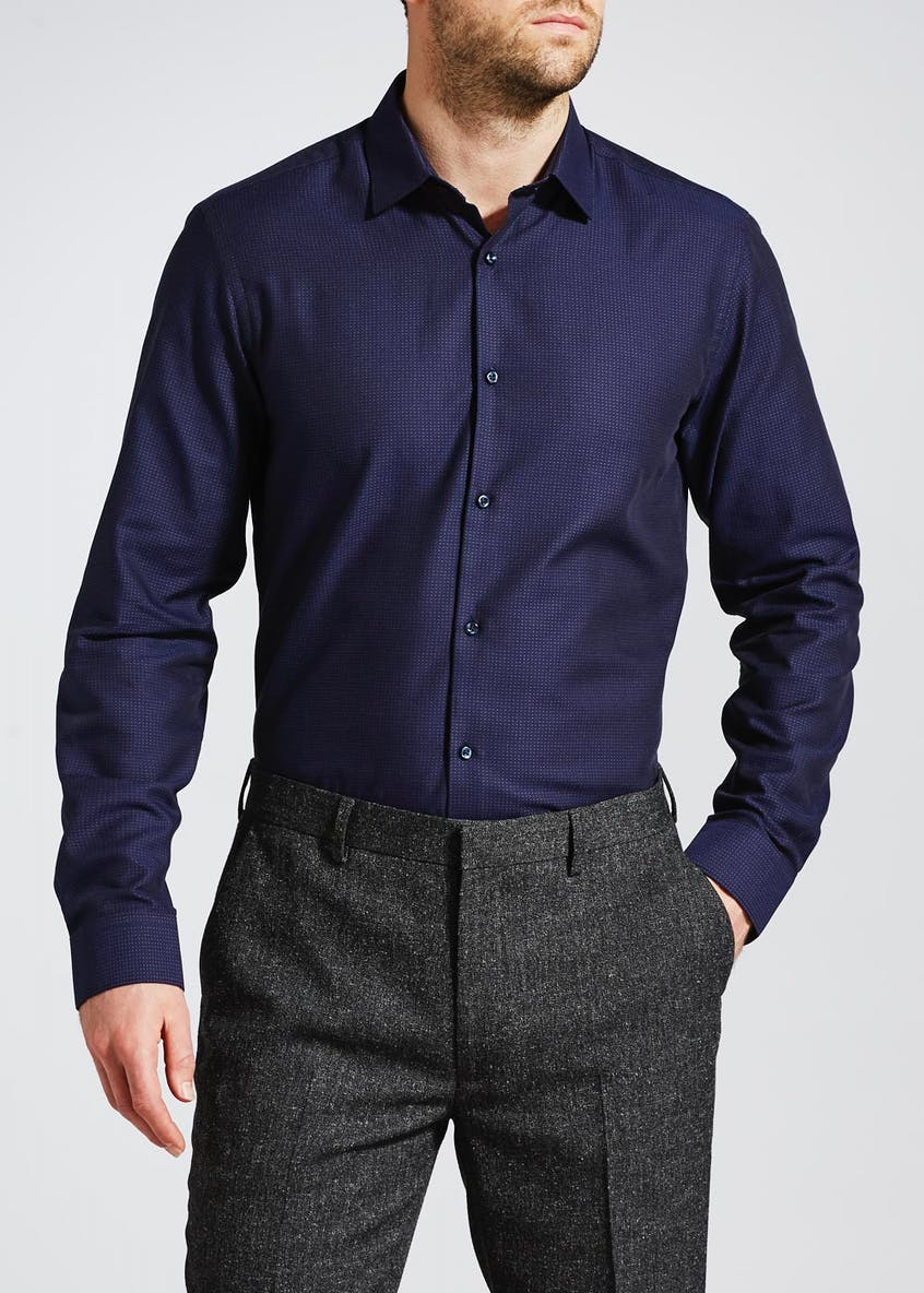 100% Cotton Slim Fit Shirt