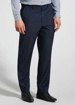 Regular Fit Wool Mix Trousers