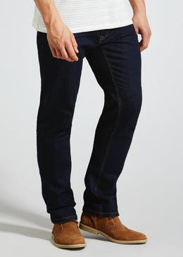 Raw Straight Fit Jeans