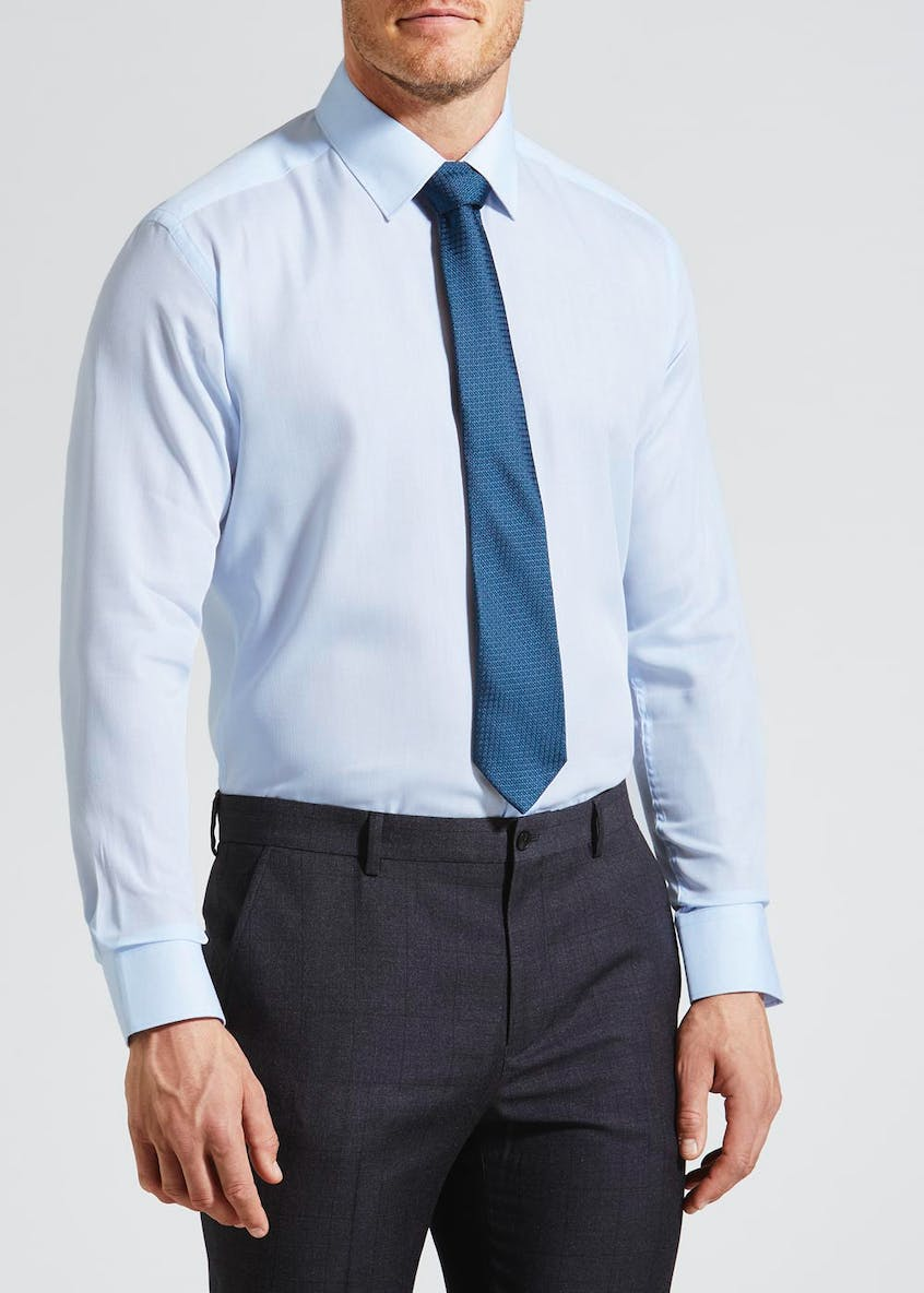 Long Sleeve Shirt & Tie Set