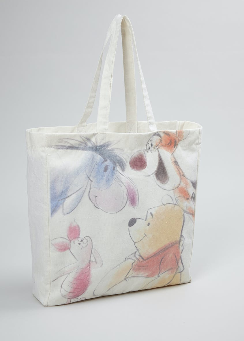 Kids Disney Winnie the Pooh Canvas Tote (One Size)