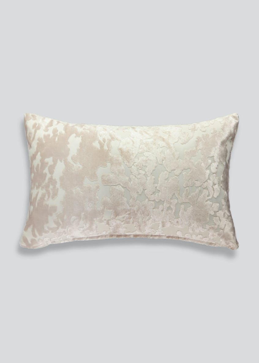 Velvet Jacquard Bedroom Cushion (50cm x 30cm)