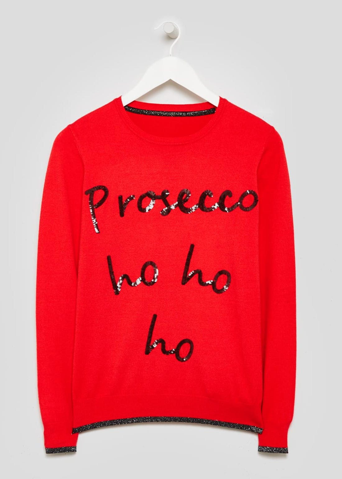 Prosecco Novelty Christmas Jumper