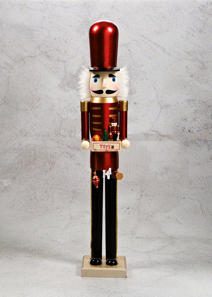 Large Christmas Nutcracker (68cm x 12cm)