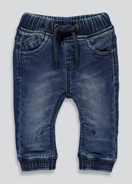 Boys Cuffed Knitted Jeans (3mths-6yrs)