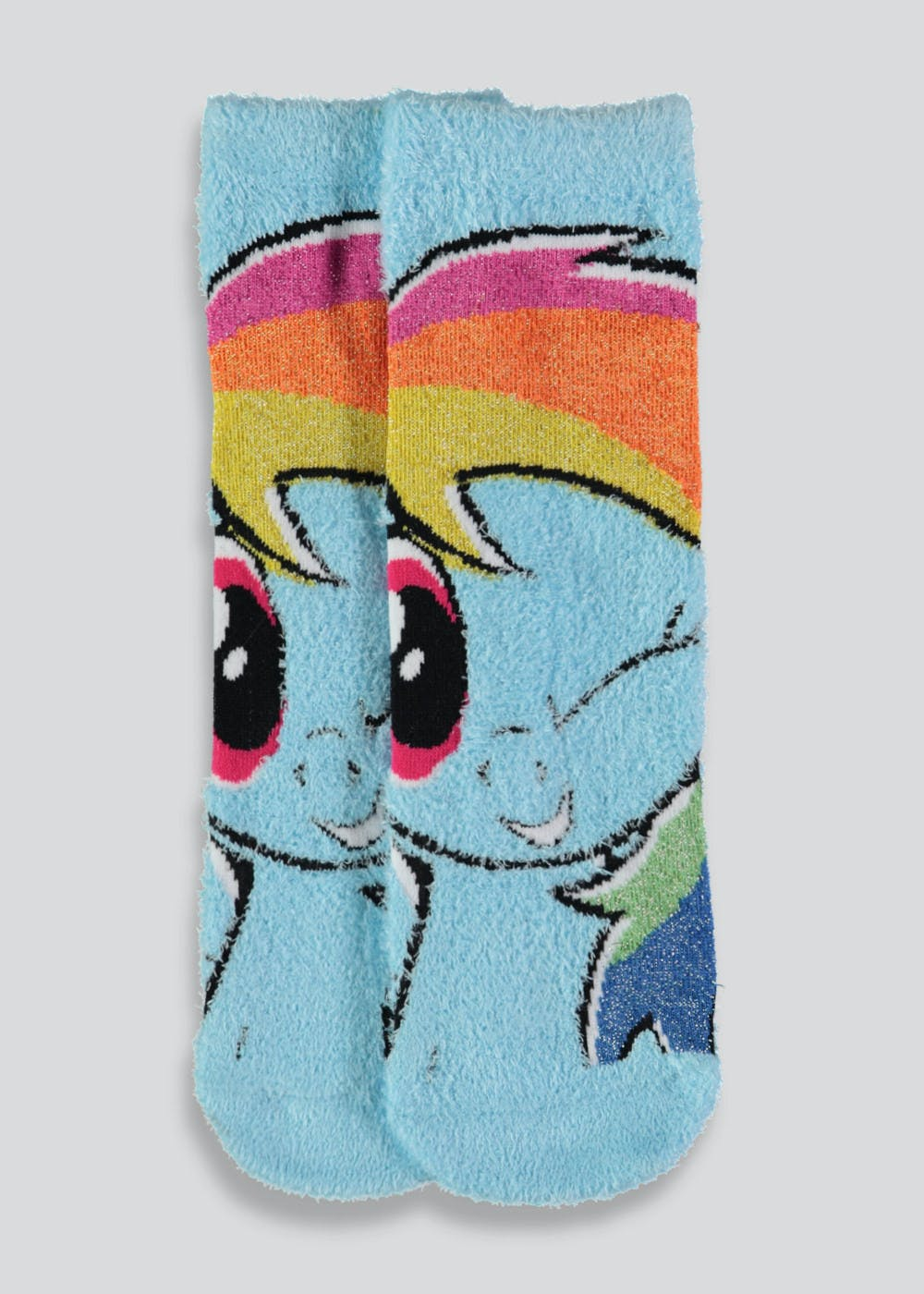 f645a7cfd72 Kids My Little Pony Slipper Socks (Younger Kids 6-Older Kids 3 ...