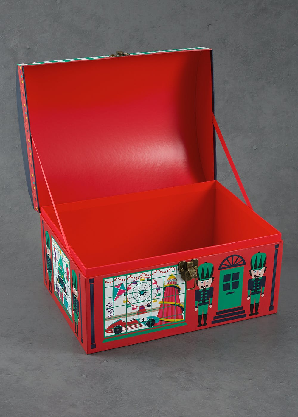 Chest style christmas gift box 40cm x 30cm x 25cm matalan chest style christmas gift box 40cm x 30cm x 25cm negle Image collections