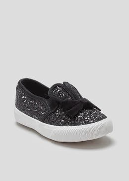 Girls Bunny Slip On Pumps (Younger Kids 4-12)