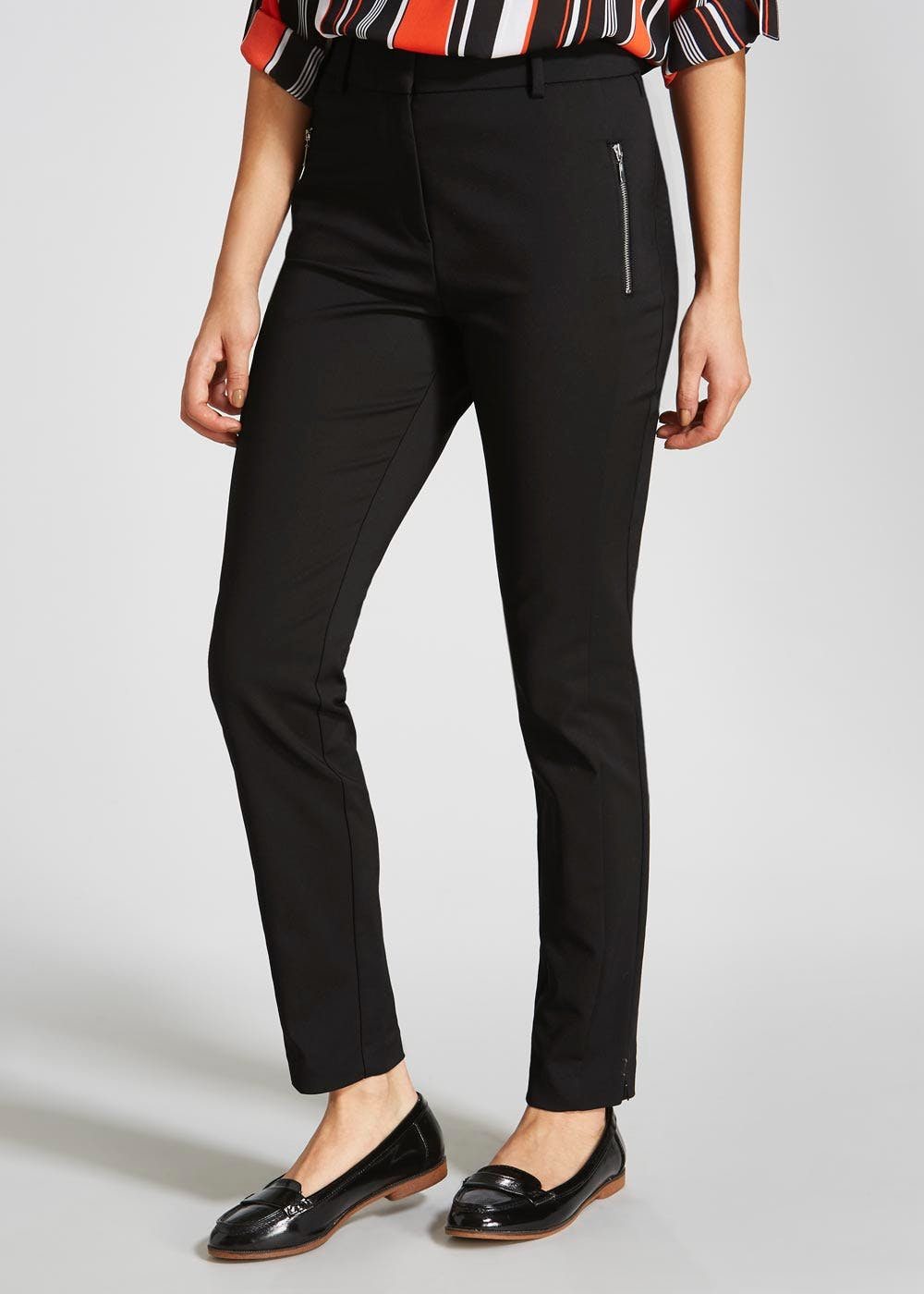 Skinny Trousers Black Matalan