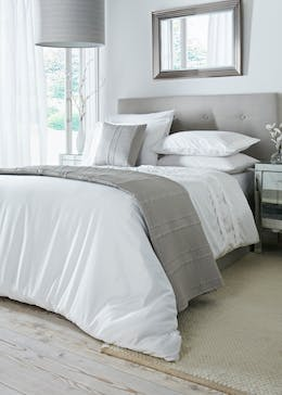 100% Cotton Willow Home Duvet Cover (400 Thread Count)