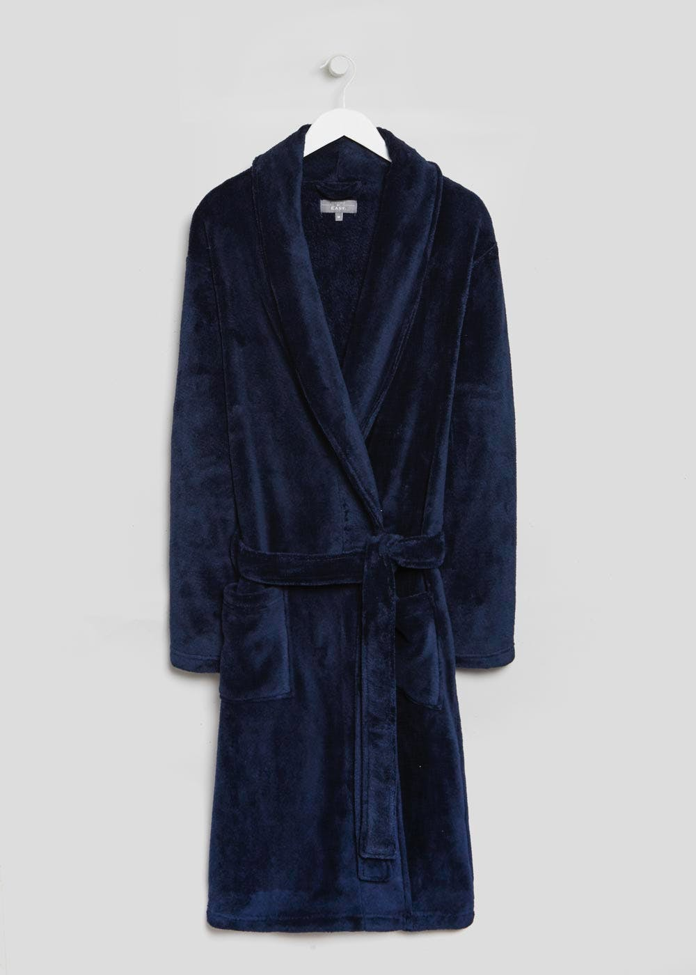 Supersoft Dressing Gown – Navy – Matalan