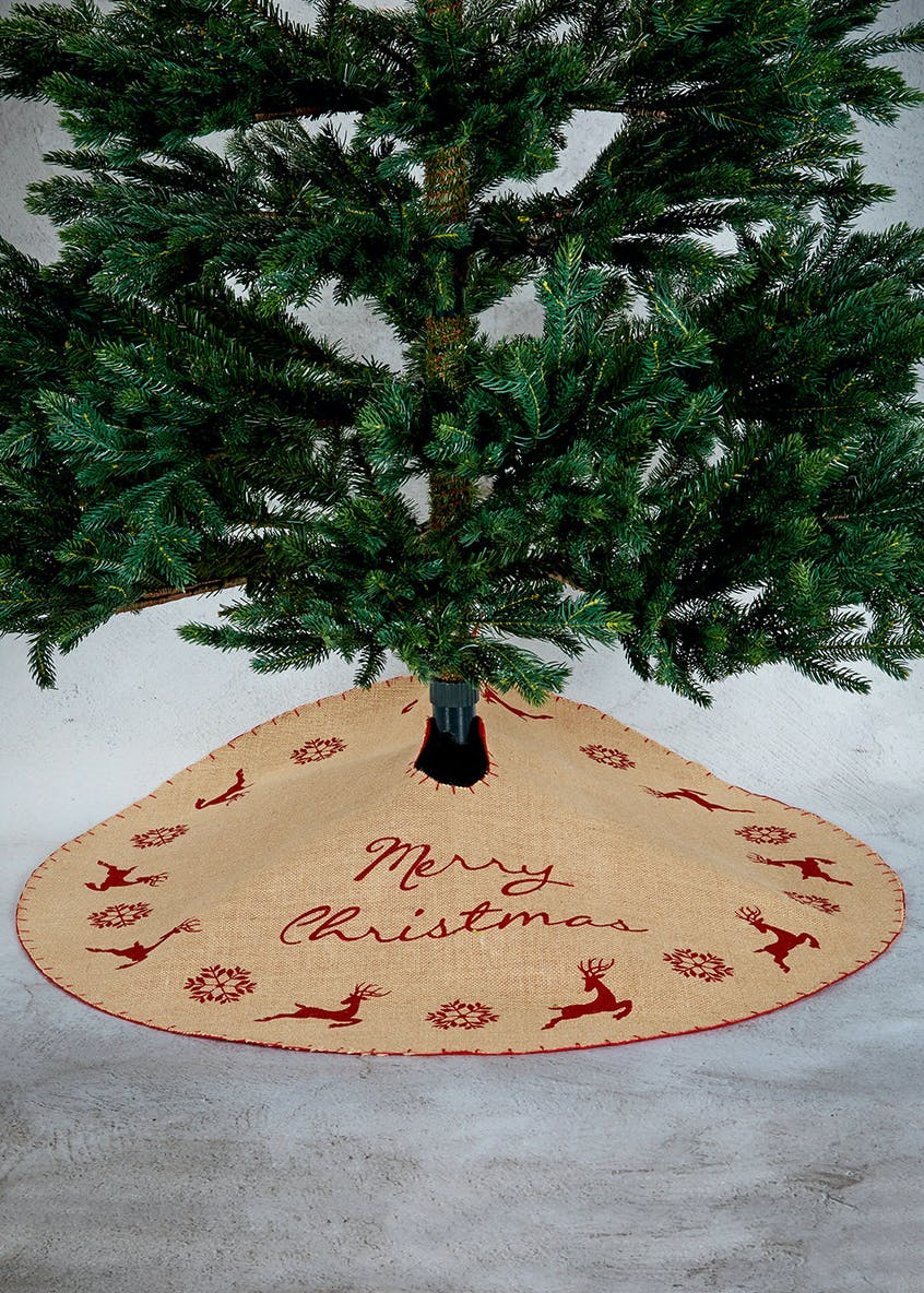 Slogan Christmas Tree Skirt (40cm)