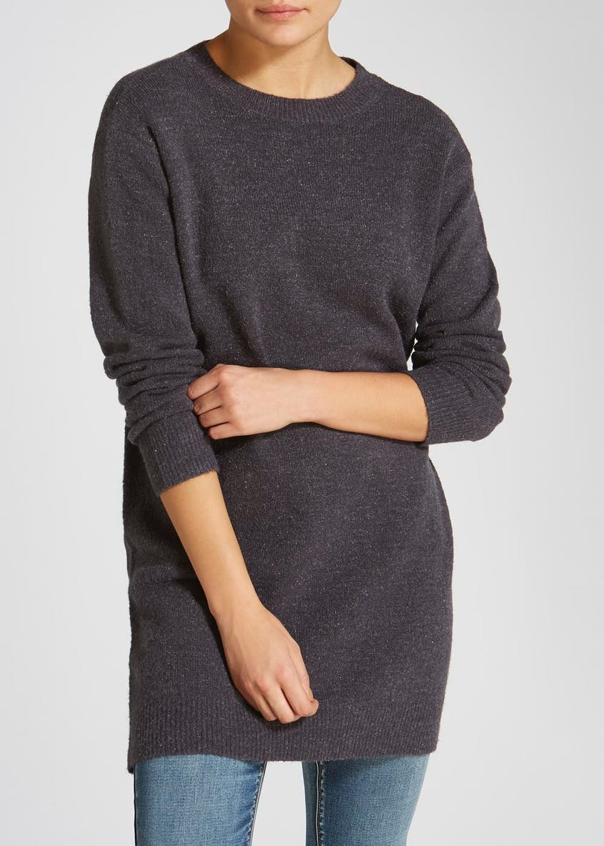 Lace Up Tunic Jumper
