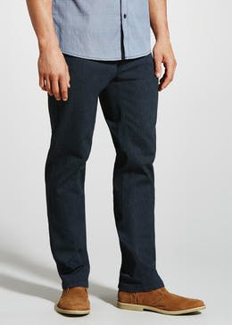 Stretch Cord Trousers with Belt