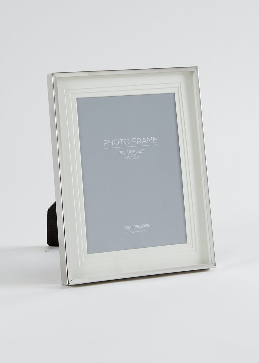 Stainless Steel Photo Frame (24cm x 19cm)