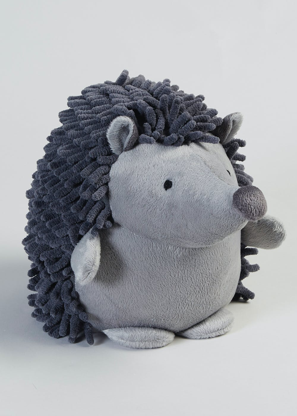 Hedgehog Doorstop 27cm X 23cm Grey Matalan