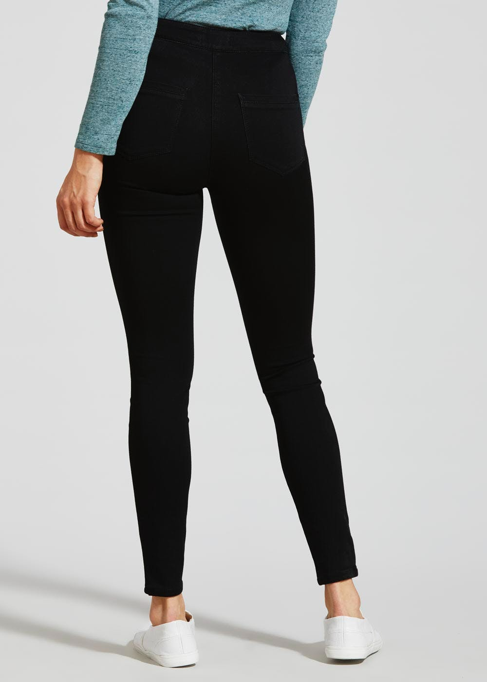sneakers reliable quality no sale tax Jessie High Waisted Jeans – Black – Matalan
