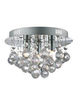 Saxby Flush Ceiling Light (W25cm x H16cm)