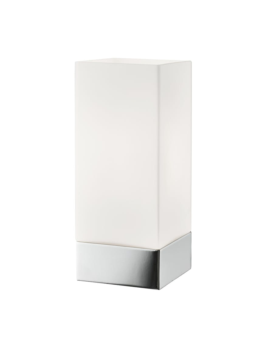 Purity Square Touch Table Lamp (H24cm x W10cm)