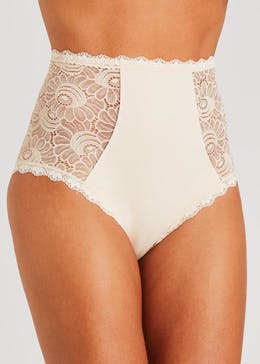 Lace Panel Control Knickers