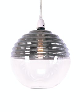 Easy fit lamp shades turn a normal fitting to a chandelier matalan brunel easy fit shade h25cm x w23cm aloadofball Images