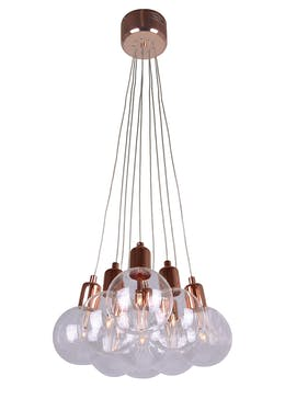Byron Copper Cluster Light (H81cm-51cm x W32cm)