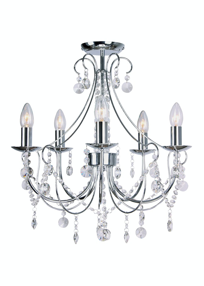 Coniston Flush Chandelier (H54cm x W50cm)