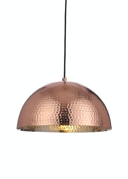 Selene Copper Pendant Light (H20cm x W40cm)