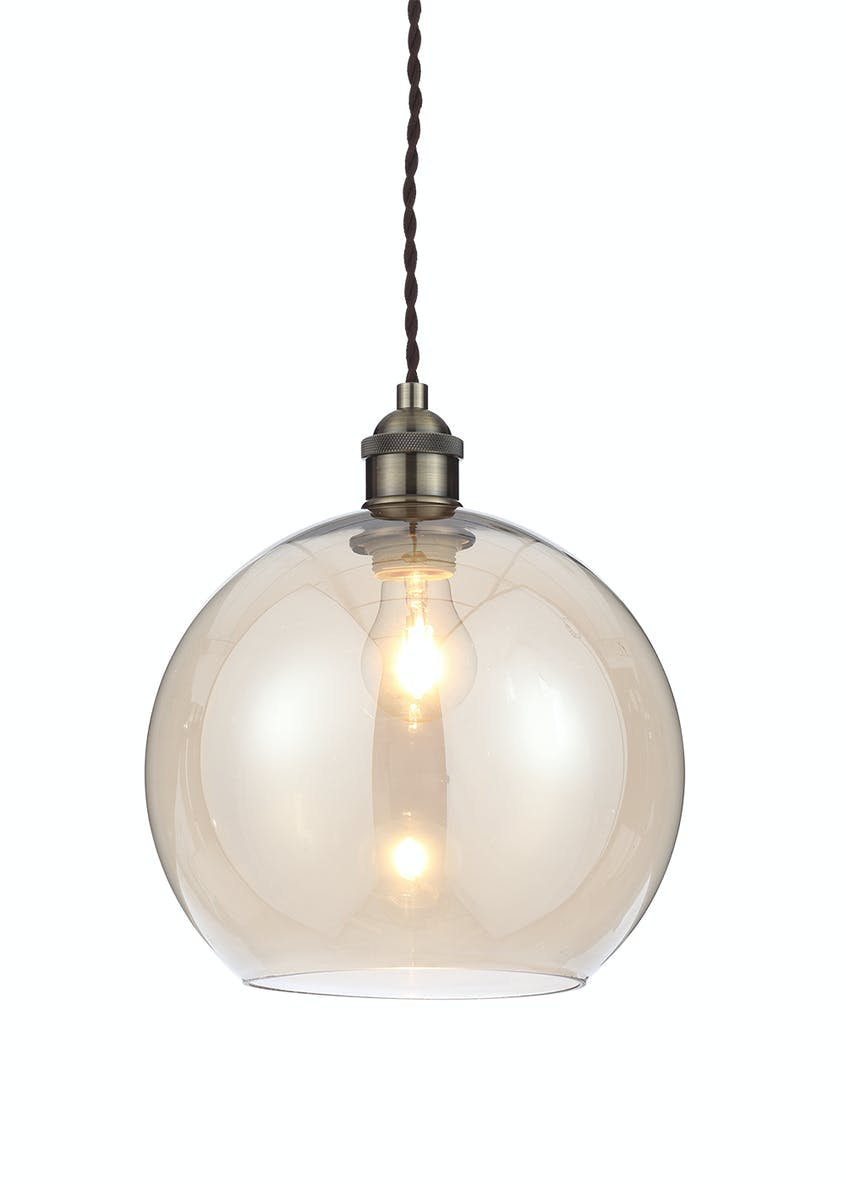 Gaspra Glass Pendant Light (H31-100cm x W25cm)