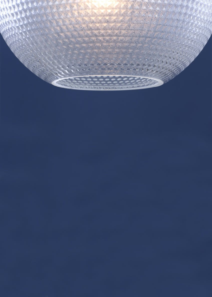 Mathilde Ball Pendant Light (H100cm-38cm x W34cm)