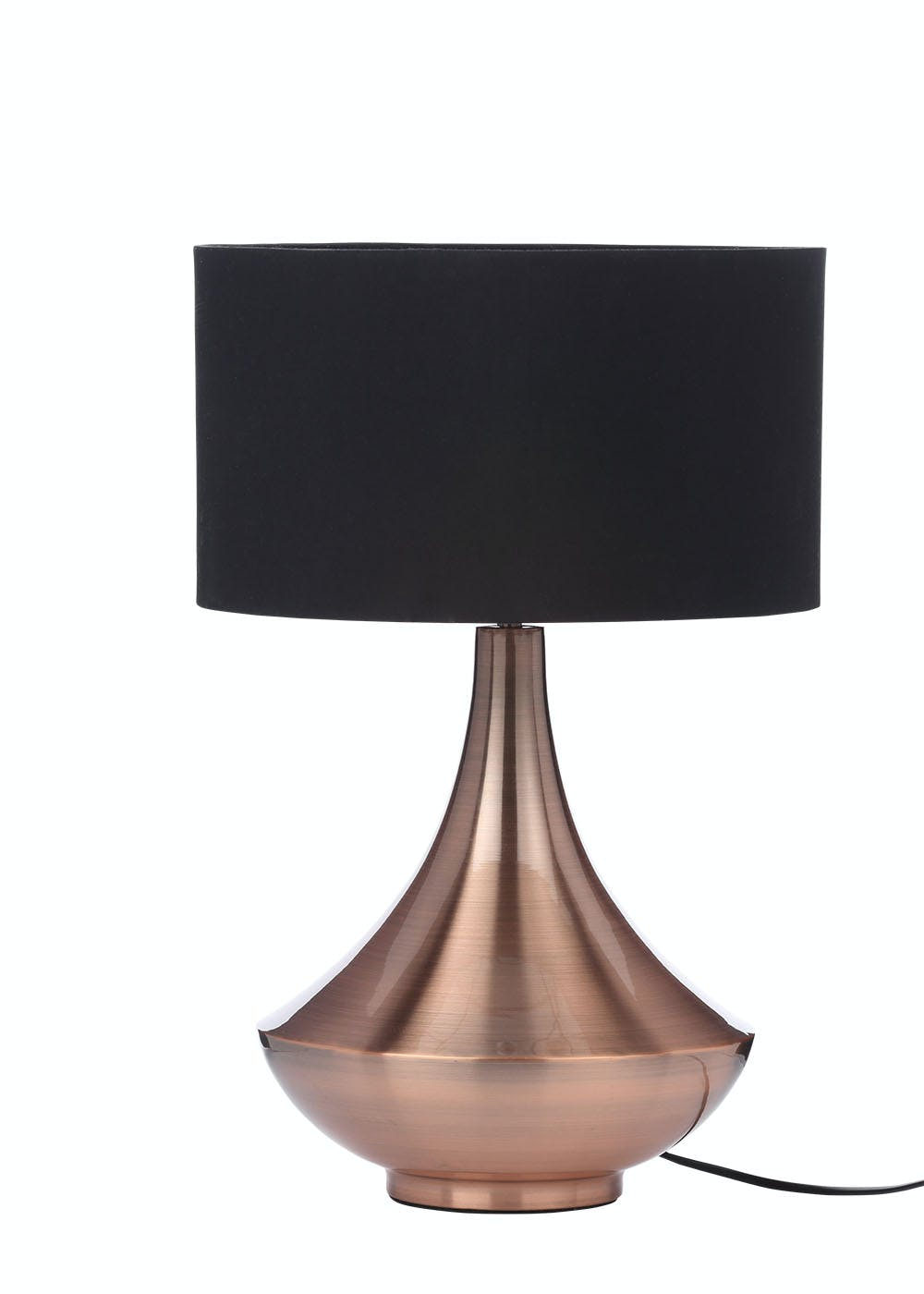 Phoebe metal table lamp h52cm x w27cm matalan phoebe metal table lamp h52cm x w27cm mozeypictures Image collections