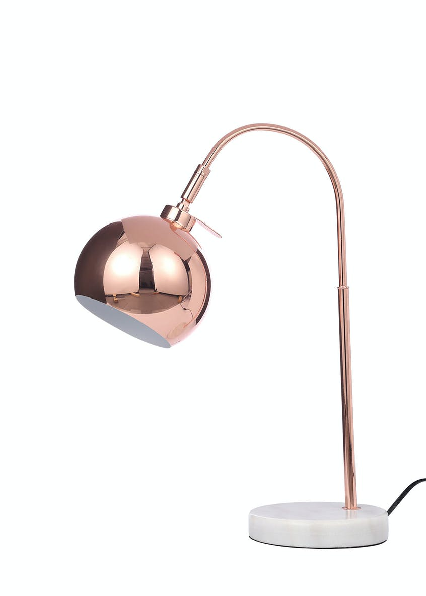 Helene Arc Table Lamp (H45cm x W15cm)