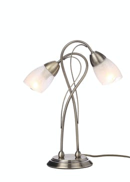 Zeus 2 Arm Table Lamp (H38cm x W14cm)