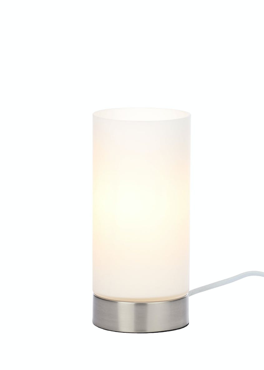 Ceres Glass Table Lamp (H22cm x W10cm)