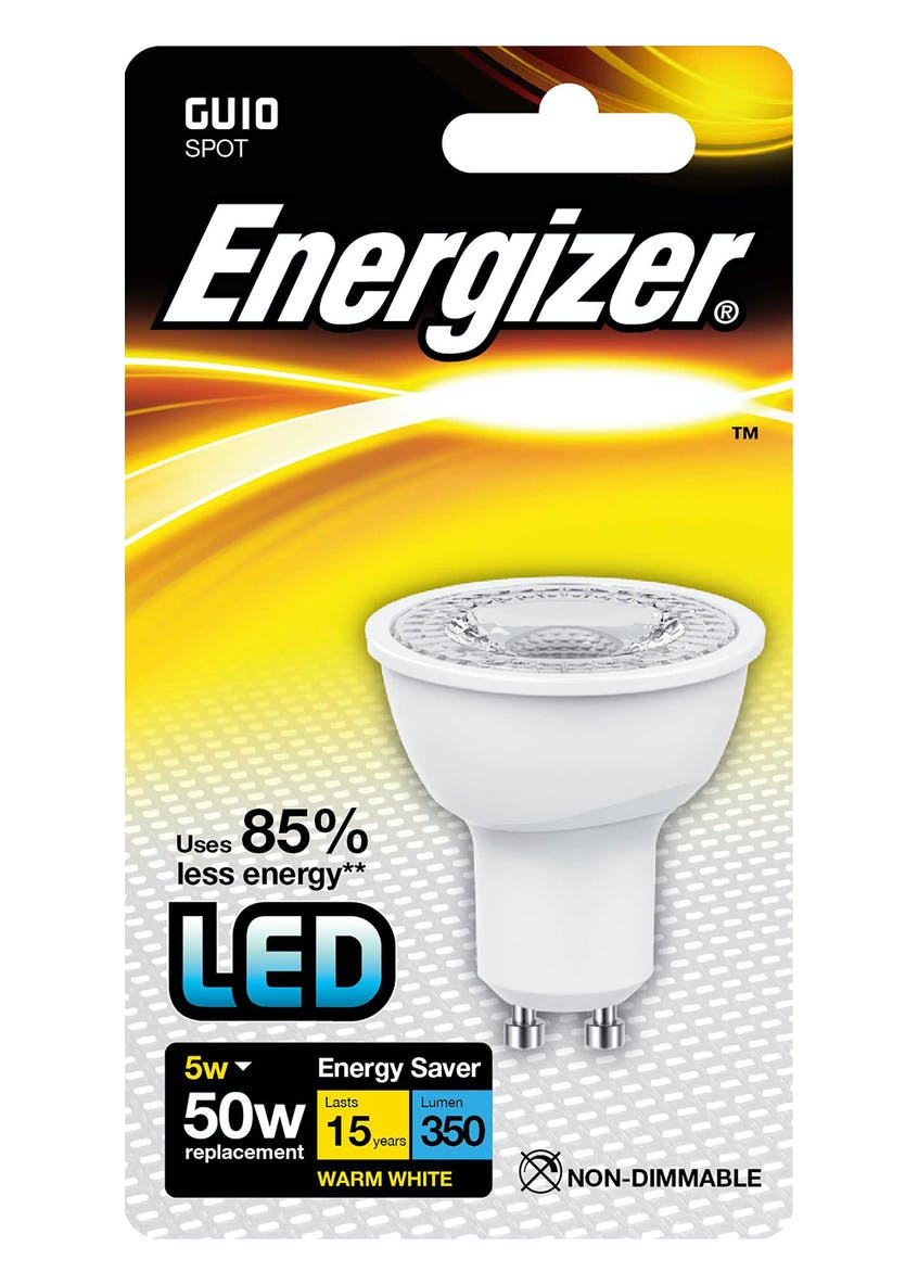 LED GU10 Warm White Bulb (5W)