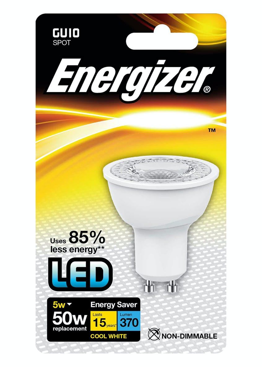 LED GU10 Cool White Bulb (5W)