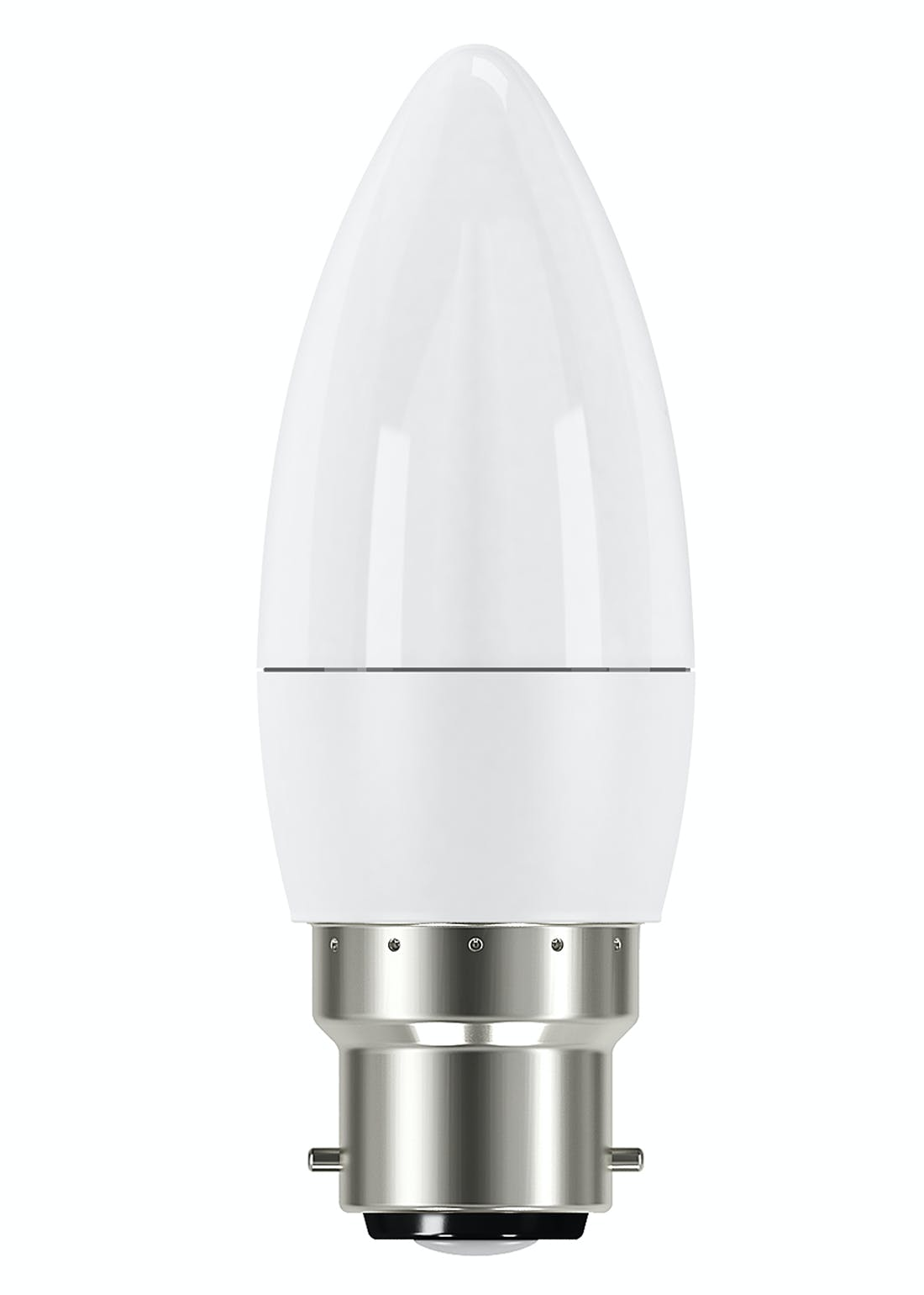 LED B22 Warm Candle Bulb (5.9W)