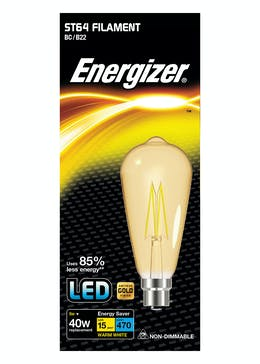 LED B22 Warm Filament Bulb (5W)