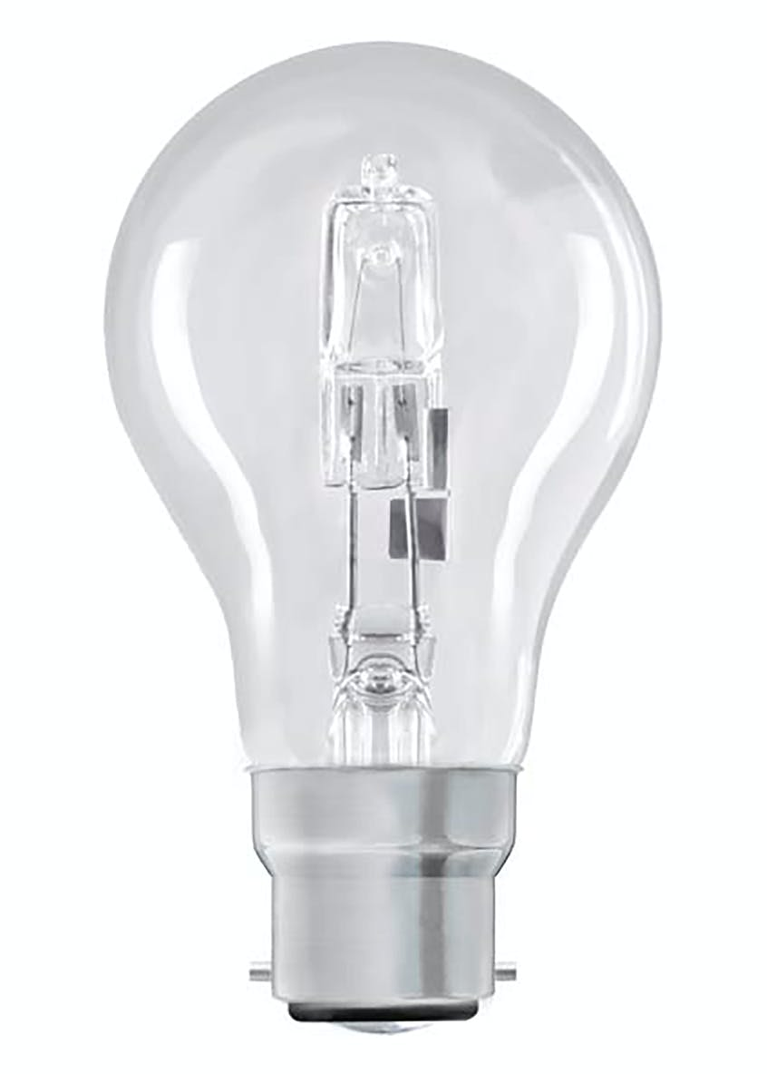 2pk Eco-Hal B22 Dimmable Warm Bulbs (48W)