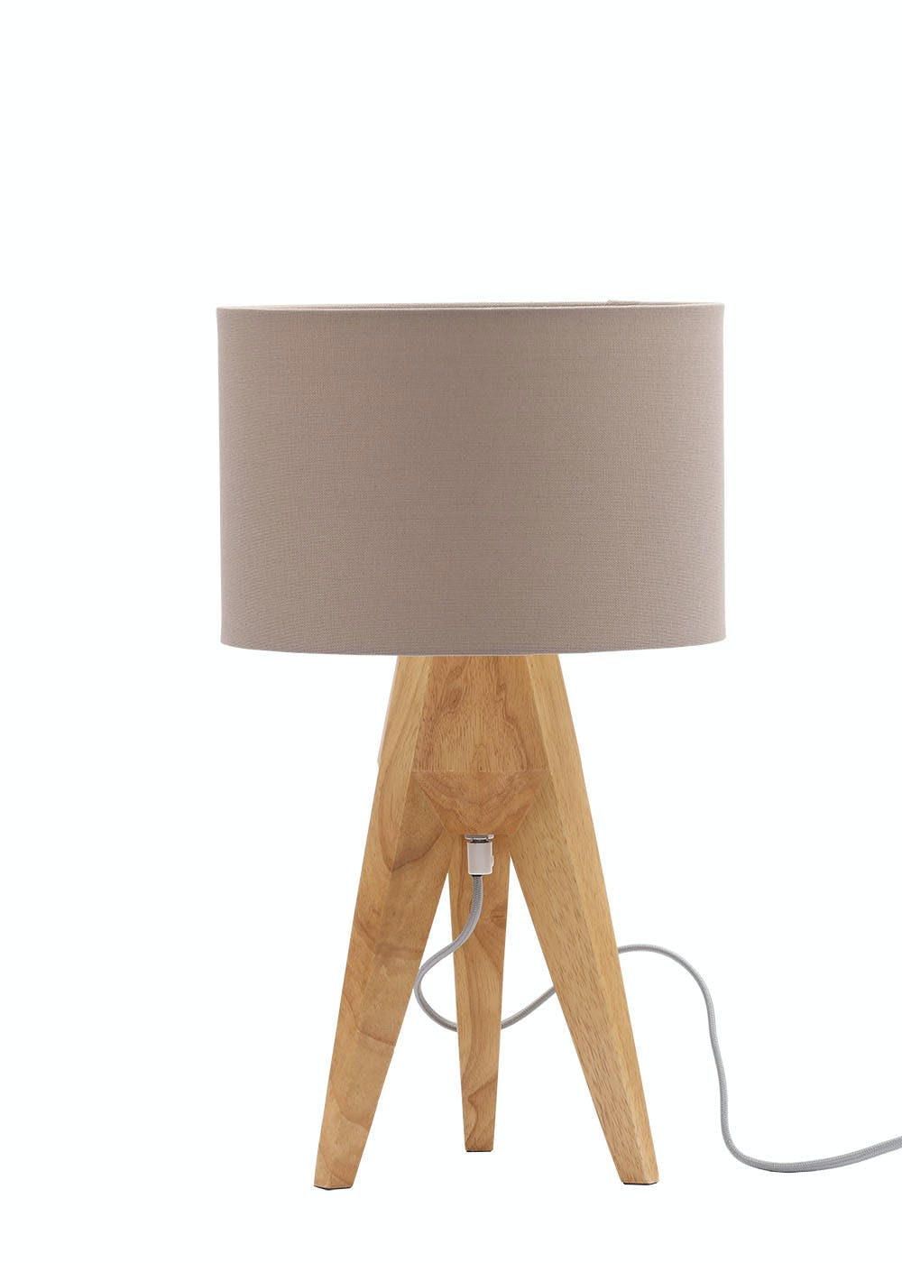 Tarvos tripod table lamp h52cm x w30cm brown matalan tarvos tripod table lamp h52cm x w30cm aloadofball Images