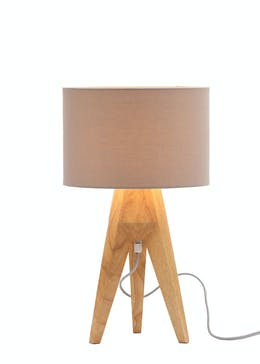 Tarvos Tripod Table Lamp (H52cm x W30cm)