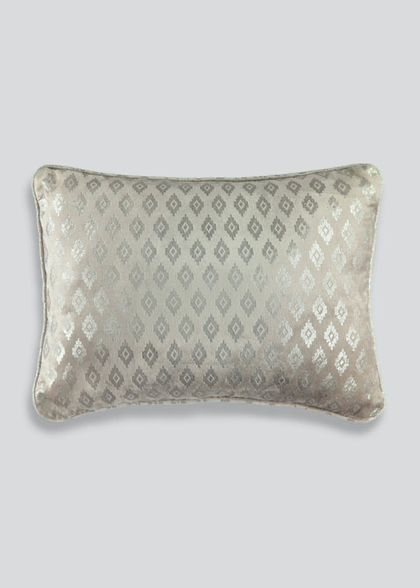 Diamond Velvet Cushion (50cm x 30cm)