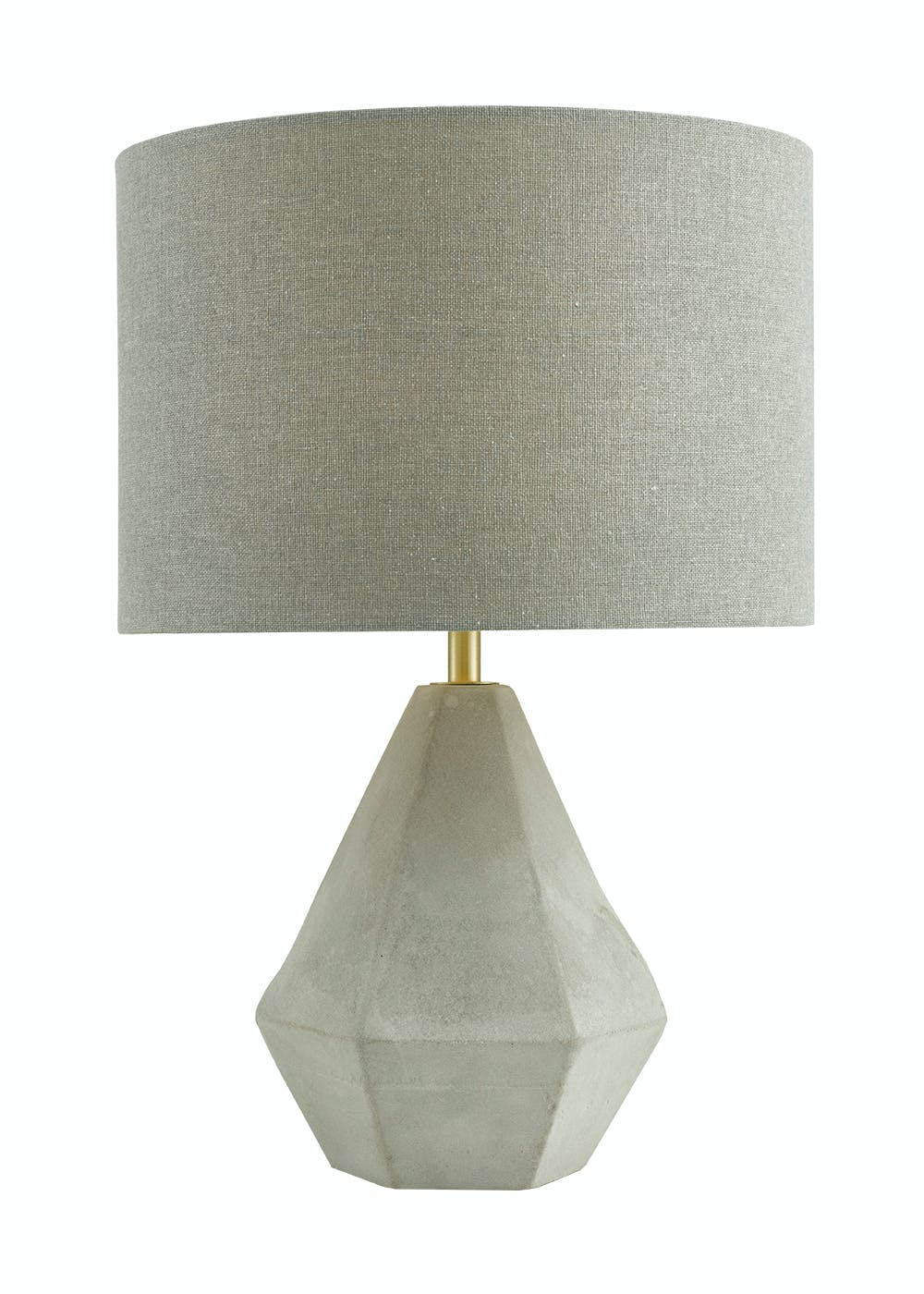 in concrete lighting. Simple Concrete Carter Concrete Table Lamp H37cm X W25cm And In Lighting