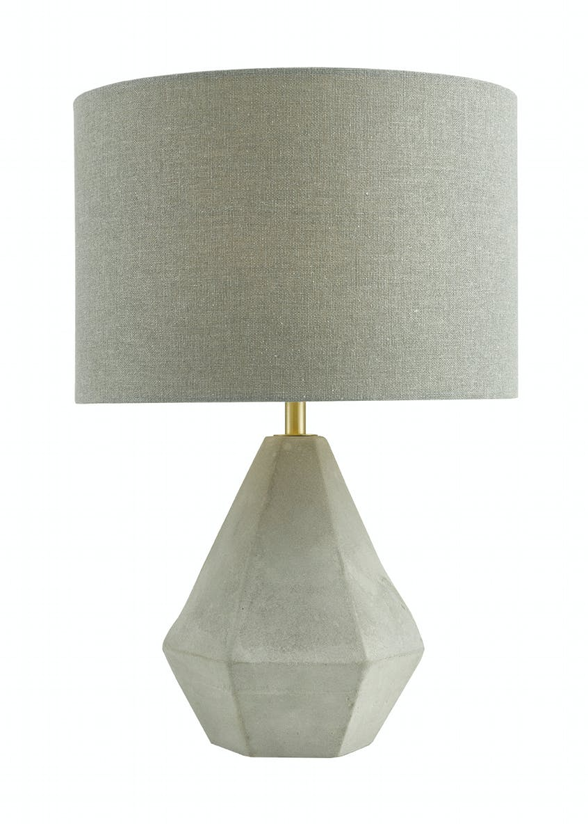 Carter Concrete Table Lamp (H37cm x W25cm)
