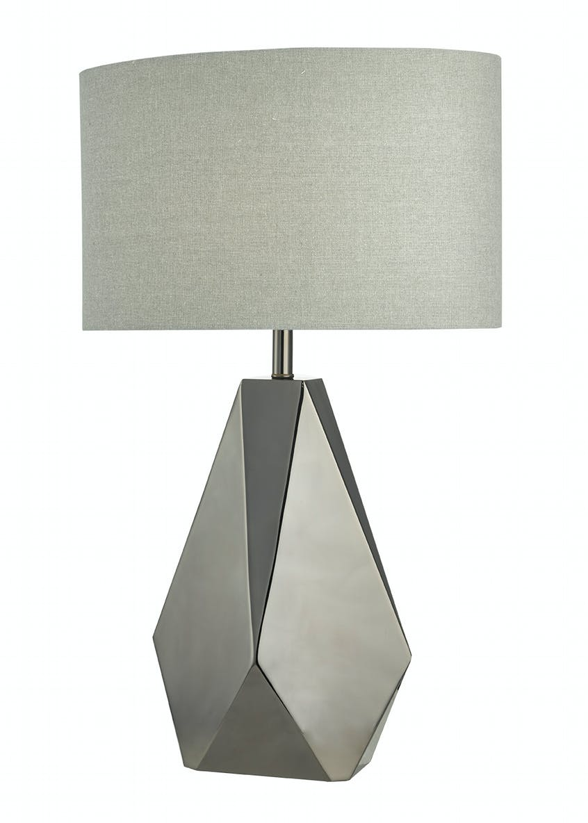 Virgil Metal Geo Table Lamp (H64cm x W40cm)