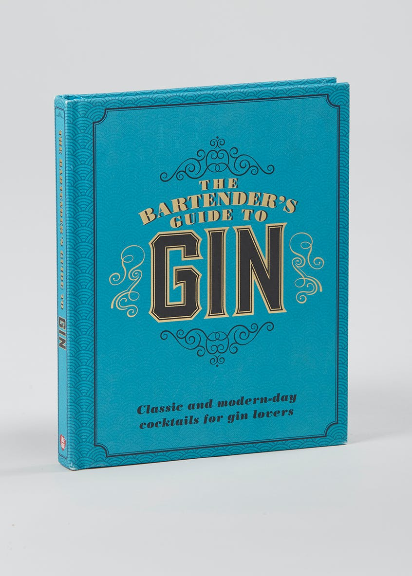 Gin Cocktail Book (21cm x 2cm)