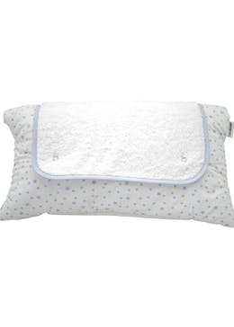 Clair de Lune Stars & Stripes Roly Poly Changing Mat (66cm x 47cm x 4cm)
