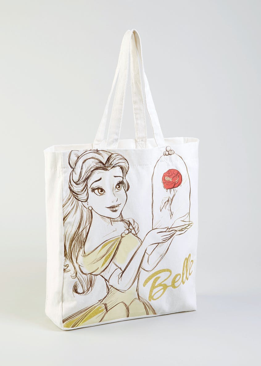 Kids Disney Beauty and the Beast Belle Canvas Tote Bag