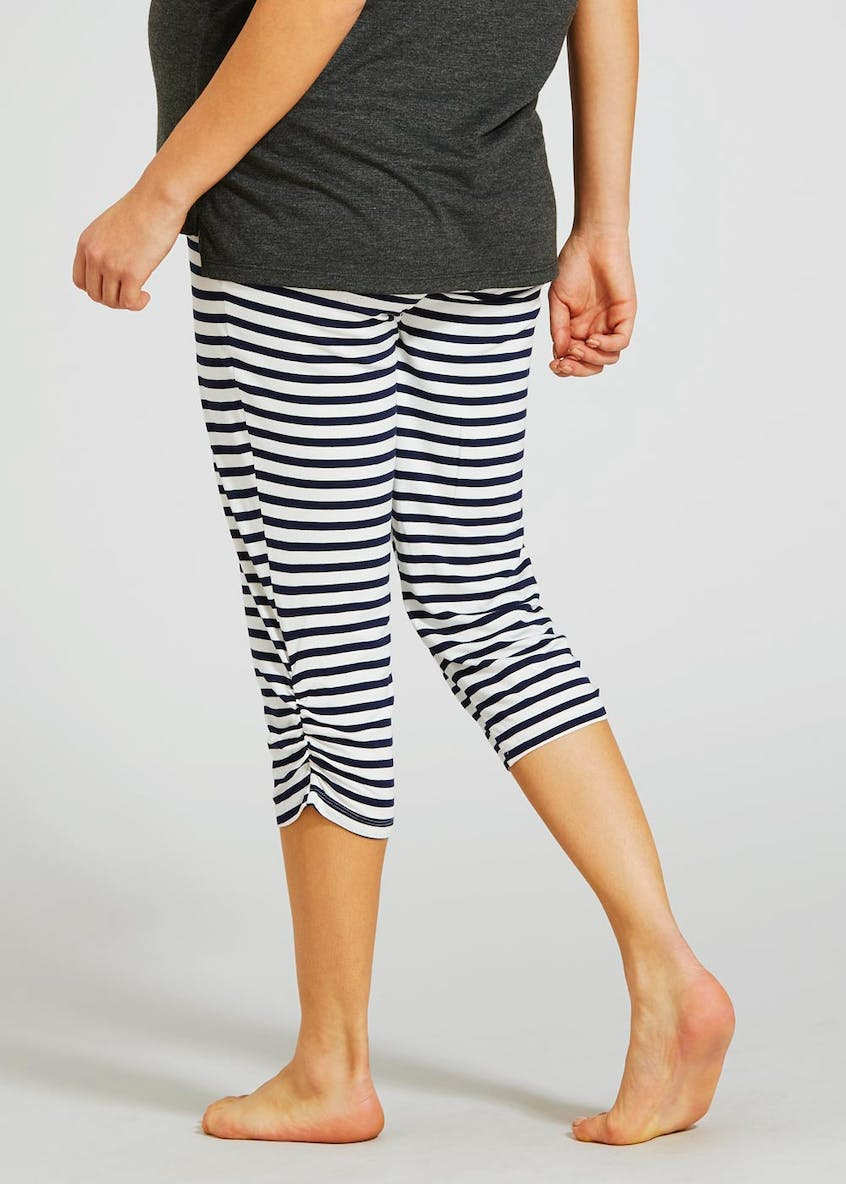 Maternity Over Bump Cropped Leggings
